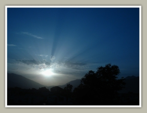 A morning in Srinagar(Garhwal)