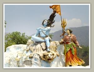 Lord Shiva and Parvati ji