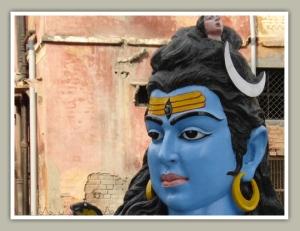 Lord Shiva in Har-ki-pauri in Haridwar