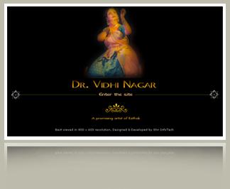 Site for a Kathak Dancer