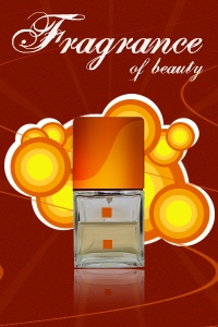 A Perfume advertisment