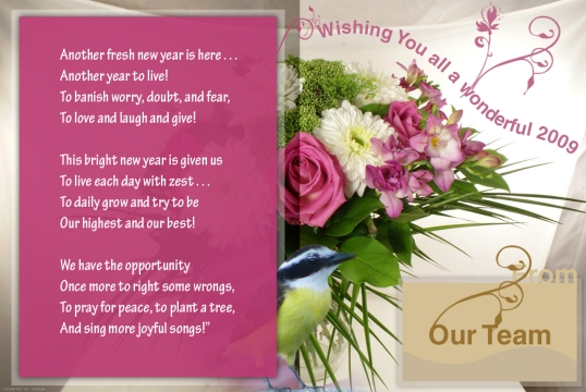 Greeting for office